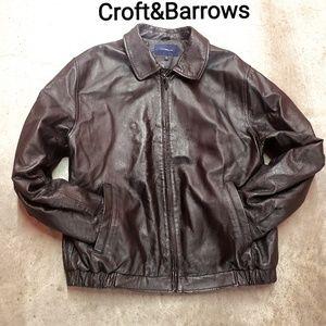 Men's Croft&Barrows Leather Jacket
